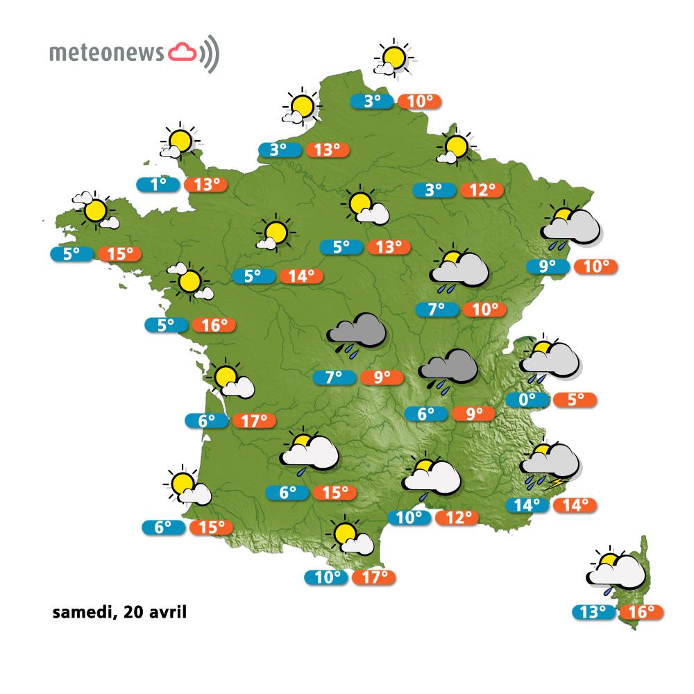Carte Espagne Meteo.Meteo Espagne Carte