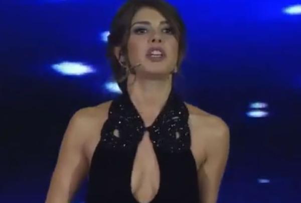 Gözde Kansu, présentatrice de télévision en Turquie