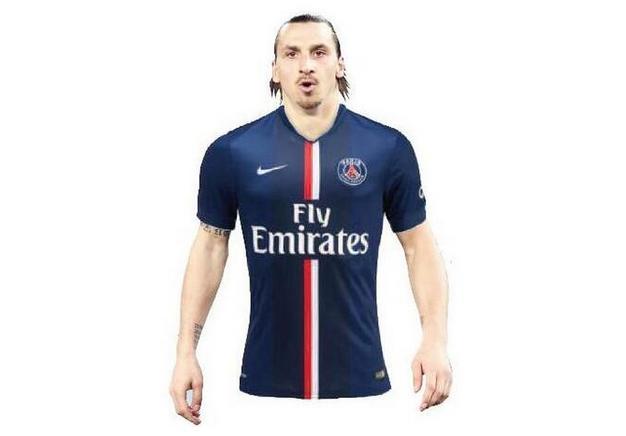 Nouveau maillot du Paris Saint-Germain