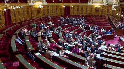 Des militantes Femen font irruption au Sénat