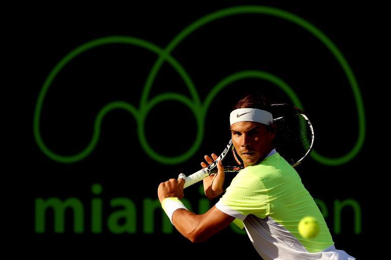 Tennis: sale temps � Miami pour Nadal et Wawrinka