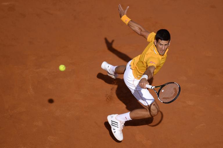 Tennis: Djokovic bat Federer en finale du Masters 1000 de Rome