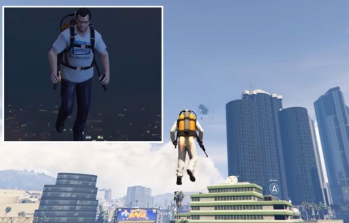 Le Jetpack revient dans GTA 5