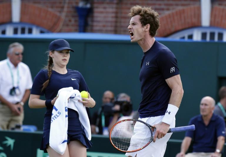 Coupe Davis: Andy Murray enterre l?�quipe de France