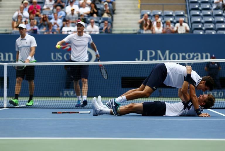 US Open: Mahut et Herbert sacr�s en double