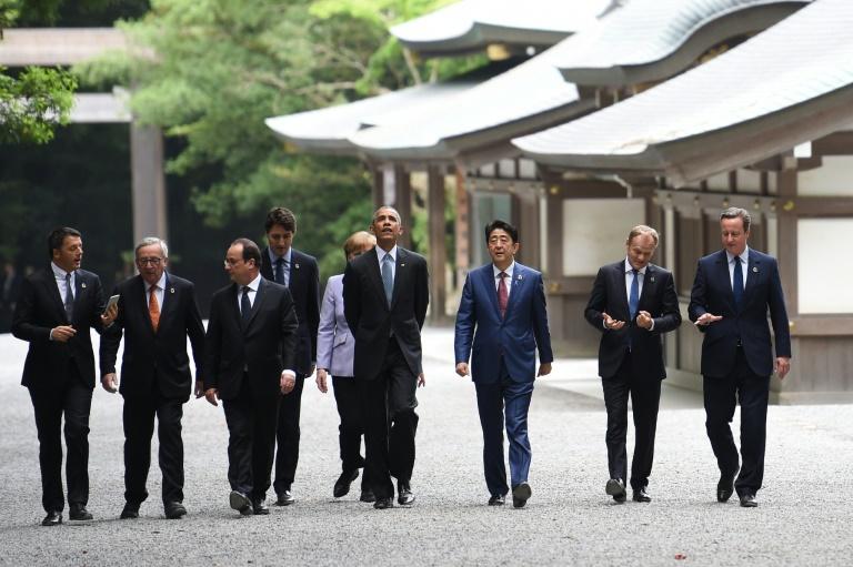 Economie mondiale, terrorisme, migrations: le G7 s'ouvre sur un agenda chargé