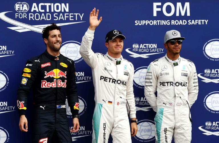 GP d'Allemagne: Rosberg en pole position sur les terres de Mercedes