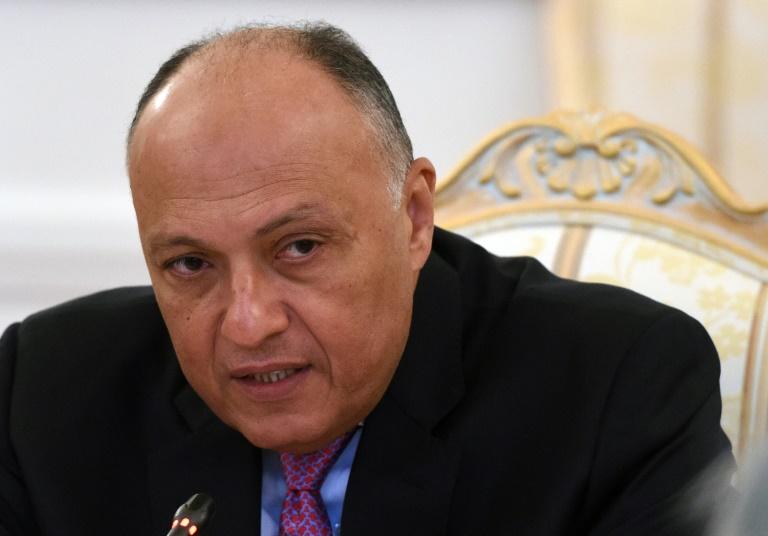Le ministre des Affaires Etrangères égyptien en visite en Israël