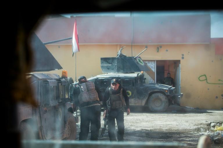 Les jihadistes du groupe EI cèdent du terrain — Syrie et Irak