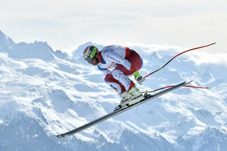Ski: le Suisse Beat Feuz champion du monde de descente