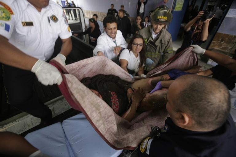 Guatemala. Terrible incendie dans un foyer pour jeunes