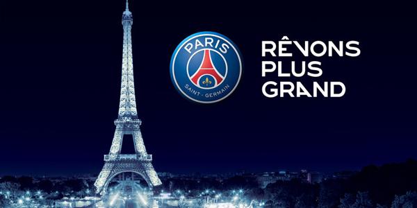 Nouveau logo du PSG 2013-2014